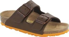Birkenstock Birko-Flor Arizona $129rrp Soil Brown BNIB Kids Sizing