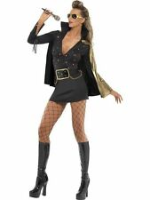Smiffy's Womens Elvis Viva Las Vegas Fancy Dress Costume - 2 Sizes