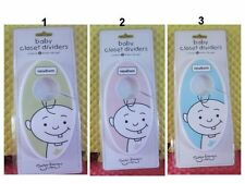 Set of 6 Boy Girl  Baby Toddler Hanging Closet Dividers by Sugar Booger