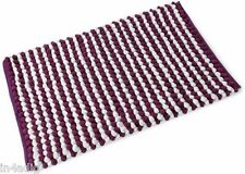 CHENILLE 2 TONE SUPERSOFT BOBBLE BATH MAT 50CM X 80CM