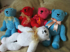 SOFT & CUDDLY HAND MADE VINTAGE LOOK TEDDY BEARS - FOR GREYHOUND RESCUE