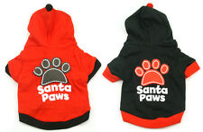 Dog Clothes Puppy 4 Sizes Coat Costume Outfit Cute Hoodie Pet Cotton Apparel Cat
