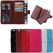 Luxury 9 Card slot Leather Wallet Case Flip Cover For Apple iphone SE 2016