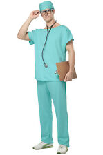 Adult Men Hospital Doctor Scrubs Medical Halloween Costume