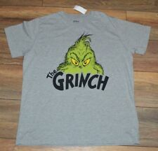 The Grinch  Adult T-Shirt Tee Officially Licensed Dr. Seuss Merchandise