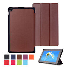 Luxury Leather Flip Stand Magnetic Smart Case Cover For Amazon Kindle Fire HD 8