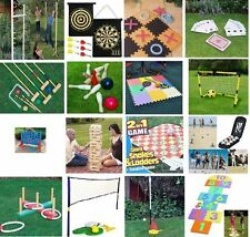 LARGE FAMILY OUTDOOR PARTY GAMES SUMMER BEACH BBQ PARTY KIDS & ADULTS NEW