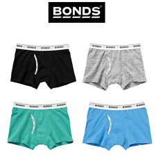 Boys Bonds Guyfront Trunks Underwear Elastic Everyday Jocks Comfy Stretch UYHN1A