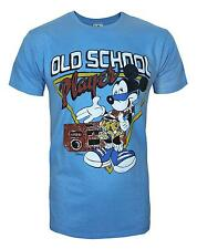 Junk Food Mickey Mouse Old School Player Men's T-Shirt