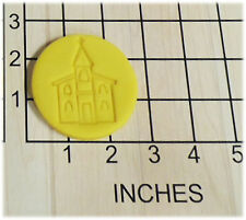 Church Fondant Cookie Cutter and Stamp #1321