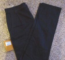 Mens Farah Vintage Cotton Midnight  Blue Chino Trousers  Size 29 Leg 34L