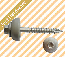 Roofing Laserlite SCREW Polycarbonate TYPE 17 12g x 50mm GALVANISED Timber  PVC