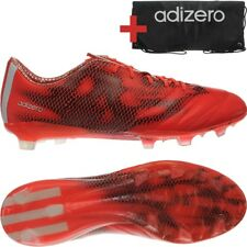 Adidas F50 Adizero TRX FG Leather men's soccer cleats red/white/black NEW