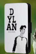 Dylan O'Brien Teen Wolf Faux Leather Flip Phone Case Cover L212