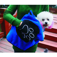 Pet Dog Drying Towel Ultra-absorbent Puppy Dog Bathing Towel Microfiber 85*50cm