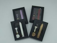 Classic Seal Gift Set - Mini Ceramic Seal with 1 wicked sealing wax