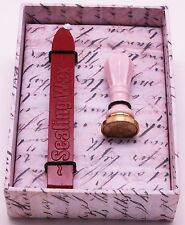 Classic Seal Gift set - Royal Wand Mini Ceramic Seal with 1 wicked sealing wax