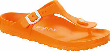 Birkenstock EVA Gizeh WATERPROOF $66rrp - Neon Orange - BNIB