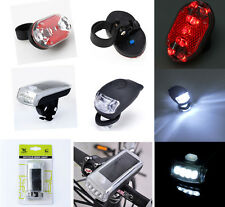 Cycle Bicycle Bike Knog Light Head Rear Tail Led Flash Lamp Torch Kit Tools