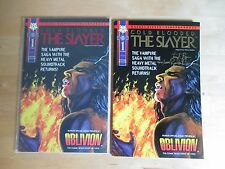 COLD BLOODED SLAYER (1995-NORTHSTAR) # 1 REGULAR & LIMITED GOLD SIGNED EDITION