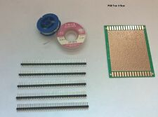 Soldering Practice set, Solder - Braid - PCB Prototype - 40 Pin Header