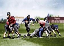 BS522 Early Chicago Bears Players Football  8x10 12x18 Colorized Photo