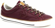 Men's Converse 149793C CONS STAR PLAYER OX SNEAKER Burgundy Leather Sz 7 9 11 13