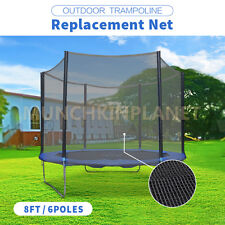 New Outdoor Trampoline Toys Replacement Safety Net Enclosure 8ft~16ft Choice