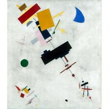 Kazimir Malevich - Suprematism 1915 Classic Art Vintage-Style Poster