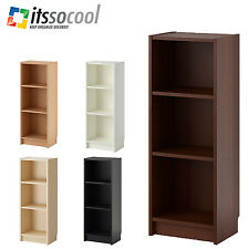 IKEA BILLY Bookcase Shelving Book Storage Rack Size S 5 Colors