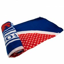Glasgow Rangers FC Fleece Blanket BE Football Soccer Scottish League Teams
