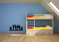 Army soldiers boys children's bedroom playroom wall art sticker