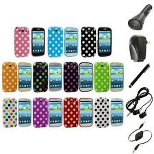 TPU Polka Dot Case Cover Accessory+Accessories for Samsung Galaxy S3 S III i9300