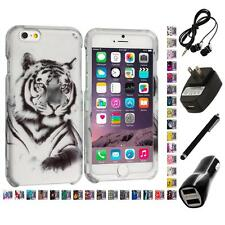 For Apple iPhone 6 (4.7) Hard Design Case Cover Accessory 4X Accessories