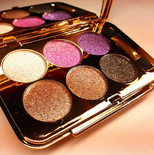 6 Colors NEW Eye Shadow Eyeshadow Palette Shimmer Brush Cosmetic Makeup Pro