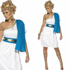 Roman Toga Ladies Costume Greek Fancy Dress Party Outfit Goddess Robe