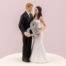 Mr and Mrs Modern Couple Wedding Cake Topper Personalized Weddingstar