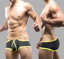 Andrew Christian Almost Naked Dare Boxer: Black & Red