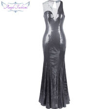 Angel-fashions Women's Mother of Brides Beading Mermaid Evening Prom Dress 230