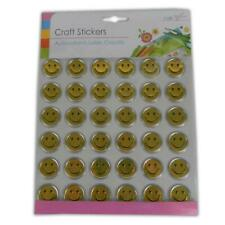Smiley Faces - Reward Stickers Teachers Aid Training Chart Crafts Card Making