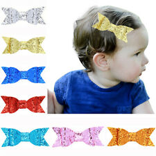 Baby Girls Kids Hair Clip Cute Bow Knot Hair Pin Barrette Hair Accessories Newly