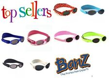 BABY BANZ Kidz GENUINE Adventurer Sunglasses Kids Childs 100% UVA UVB Girls Boys