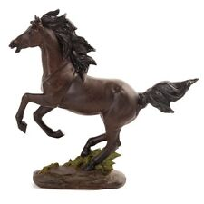 Wild Rearing Horse Statue Ornament Figurine Sculpture Home Décor BIG *27 cm*