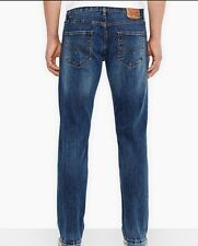 Levis 514 Mens Jeans Slim Fit Straight Leg Medium stone-washed