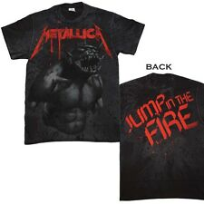 Brand New Metallica Jump in the Fire All Over T-Shirt