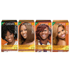 CREME OF NATURE Moisture-Rich Hair Color Gray Coverage Permanent Haircolor New