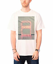 The 1975 band logo Neon Sign new Official Mens White Shirt