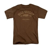 BACK TO THE FUTURE HILL VALLEY 1855 Officially Licensed Men's Tee Shirt SM-3XL