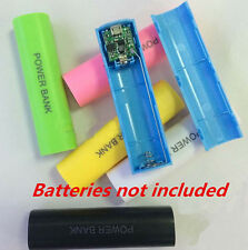 2600mAh Case Kit Bank Charger 18650 Box Battery USB Power DIY For All Phone