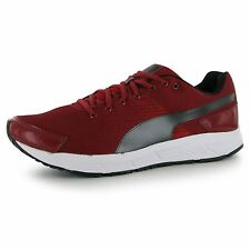 Puma Sequence Running Shoes Mens Red Fitness Trainers Sneakers